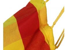 Fotel hamakowy szeroki z podstawką, HC-COMFY - Viva Mexico(154C)