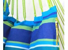 Fotel hamakowy szeroki z podstawką, HC-COMFY - Niebieski(242)