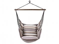 Fotel hamakowy szeroki z poduszką