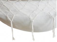 Fotel hamakowy z poduszkami HP, HC-7 + HP - 111 - ecru-szary(111)