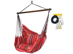Leżak hamakowy HCXL z zestawem montażowym, zhcxl218-koala/fix/ch1 - Lava(218)