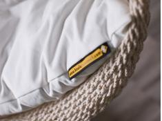 Sznurkowy Fotel hamakowy z poduszkami, AHC-7