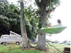 Fotel wiszący, Dwuosobowy Lullio - Leaf Green(2)