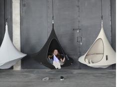Namiot wiszący, Olefin single - Charcoal(4)