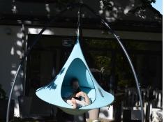 Namiot wiszący, Olefin single - Cyan blue(COS7)