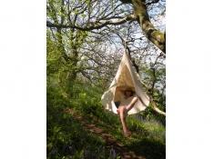 Namiot wiszący, Jednoosobowy - Natural White(1)