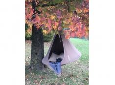 Namiot wiszący, Jednoosobowy - Taupe(7)