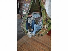 Namiot wiszący, Jednoosobowy - Camouflage(9)