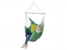 Fotel hamakowy z poduszkami HP, Bench De Luxe + HP-113 + HP- 303 - zielony(149)