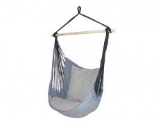 Fotel hamakowy z poduszkami i zestawem montażowym, Etno + HP-111 + koala/fix/ch1 - Granatowy(112)