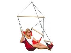 Fotel hamakowy, Swinger - Czerwony(Red)