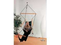 Fotel hamakowy, Swinger - Czarny(Black)
