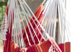 Fotel hamakowy Brazilian, B5 - czerwono-pomarańczowy(36)