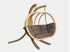 Zestaw: stojak Sintra + fotel Swing Chair Double (2)
