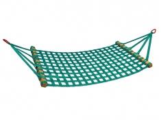 Hamak z drążkiem, HM - zielony(2)