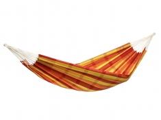 Hamak dwuosobowy, Barbados - czerwono-żółty(Papaya)