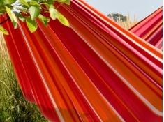 Brazilian Hamak dwuosobowy, BRAZ2 - czerwono-pomarańczowy(36)