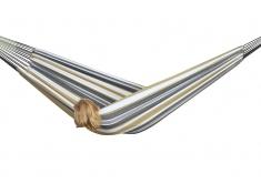 Brazilian Hamak dwuosobowy, BRAZ2 - brązowo-biały(25)