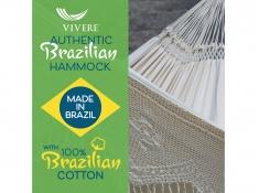Brazilian Hamak dwuosobowy, BRAZ6 - ecru(00)