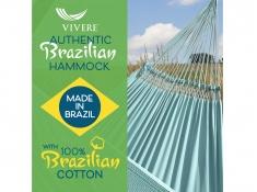 Brazilian Hamak dwuosobowy, BRAZ6 - turkusowy(01)