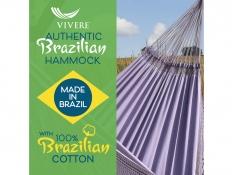 Brazilian Hamak dwuosobowy, BRAZ6 - jagodowy(03)