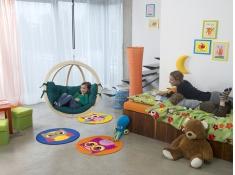 Fotel hamakowy dla dzieci, Kids Globo - Zielony(Green)