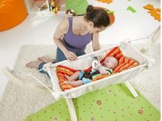 Hamak dla niemowlaka, Kaya - ecru(natura)