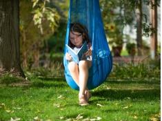 Fotel hamakowy dla dzieci JOKI Air, JAD90 - Niebieski(33)