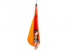 Fotel hamakowy dla dzieci JOKI z zestawem montażowym, JCD70 - pomarańczowy(22)