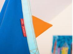 Fotel hamakowy dla dzieci JOKI z zestawem montażowym, JCD70 - niebieski(33)