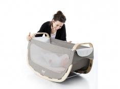Kołyska dla niemowlaka, LooL - Brązowy(1)