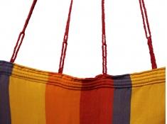 Hamak SAN DIEGO - różne kolory, SAN DIEGO - pomarańczowy(25415)