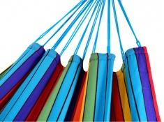 Jednoosobowy hamak - duży wybór kolorów, KOCON - Multicolore(17404)