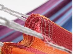Jednoosobowy hamak - duży wybór kolorów, KOCON - Rainbow(217119)