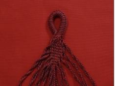 Hamak boho, HT - Czerwony(325)