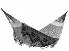 Brazilian Hamak dwuosobowy, BRAZ8 - biało-czarny(10)