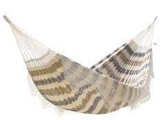 Brazilian Hamak dwuosobowy, BRAZ8 - beżowo-czarno-brązowy(12)