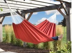 Dwuosobowy hamak Sunbrella, BZSUN - Czerwony(12)
