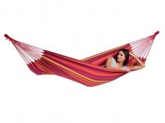 Hamak jednoosobowy, Tahiti - Czerwony(Vulcano)