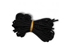 Czarna lina, Nautical Ropes - czarny(07)