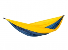 Hamak turystyczny, Adventure Hammock XXL - żółto-niebieski(Nemo)