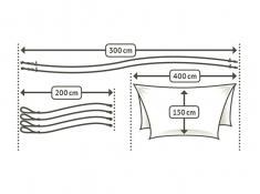 Daszek na hamak, CFZ40 - zielony(4)