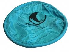 Kieszonkowe Frisbee, Pocket Frisbee - niebieski / turkusowy(14)