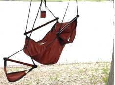 Fotel hamakowy, HANG - Czerwony(8)