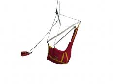 Fotel księżycowy, Moonchair - czerwono-żółty(37/34)