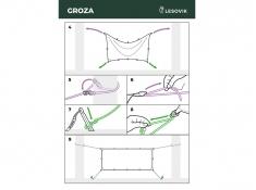 Ultralekki tarponamiot, GROZA - Crocodile Green(2)