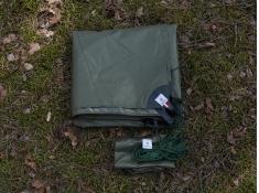 Zawieszenie do tarpów, NITI - zielono-biały(1)