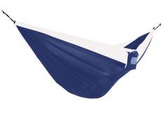 Hamak turystyczny dwuosobowy Parachute, PAR2 - biało-granatowy(9)