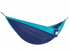 Hamak turystyczny dwuosobowy Parachute, PAR2 - niebiesko-granatowy(52)