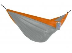 Hamak turystyczny dwuosobowy Parachute, PAR2 - pomarańczowo-szary(6)